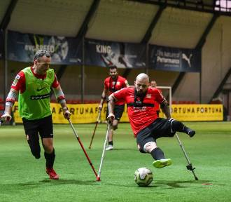 Najlepsza drużyna Europy w amp futbolu zagra w Krakowie w dwumeczu z Polską