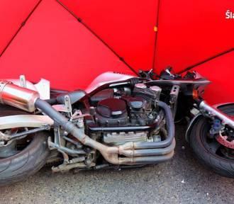Wypadek w Bytomiu. 31-letnia motocyklistka z Katowic nie żyje