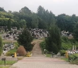 Będzie remont kolejnego odcinka głównej alei na Cmentarzu Komunalnym w Sandomierzu