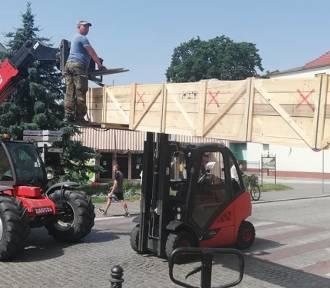 WSCHOWA.Transport ekranu do CKIR 11 czerwca [ZDJĘCIA]