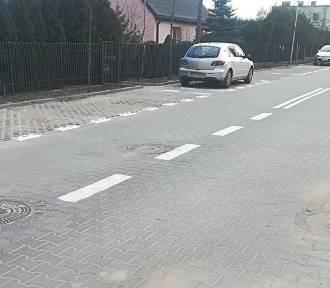 Drogowcy zamknęli ulicę Jeżynową na Miedzyniu