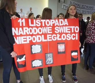 Sławno: Rozpoczęli świętowanie 101 rocznicy niepodległości Polski [ZDJĘCIA] - 2019 r.