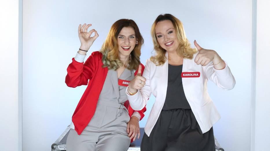 Anna Hajnowska i Karolina Jęczmionka