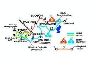 Ścieżki rowerowe Kraków: do Tyńca
