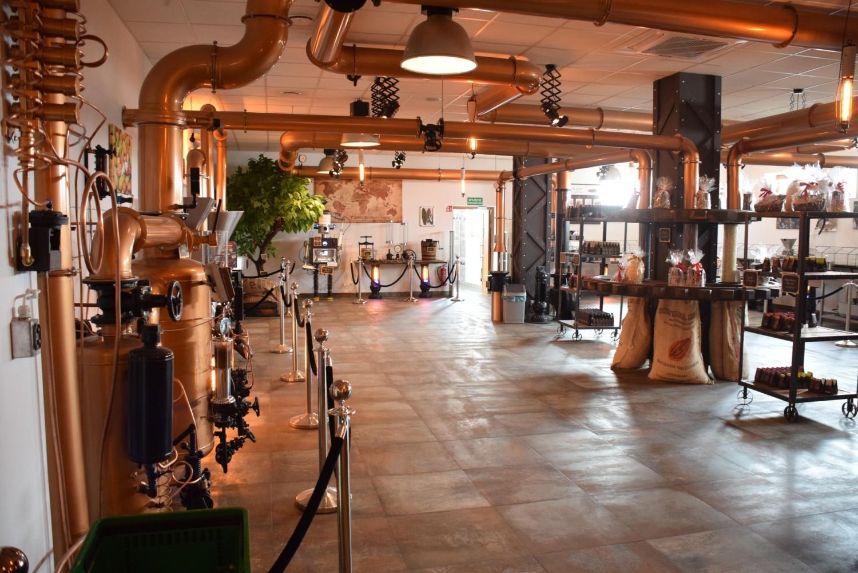 Fabryka i pijalnia czekolady w Korczynie