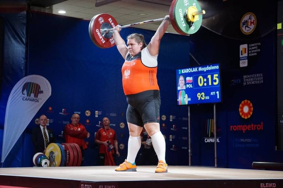 Magdalena Karolak wicemistrzynią Europy juniorek. Zawodniczka Omegi z dwoma rekordami kraju