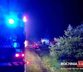 Wypadek pod Bochnią. Zginęło czterech młodych mężczyzn