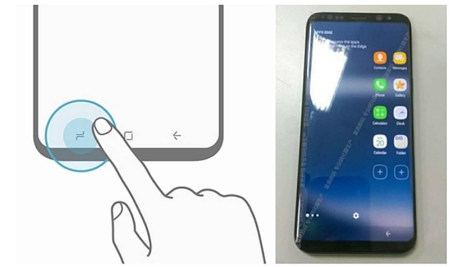 Zdjęcia działającego Samsung Galaxy S8 i grafika stacji dokującej