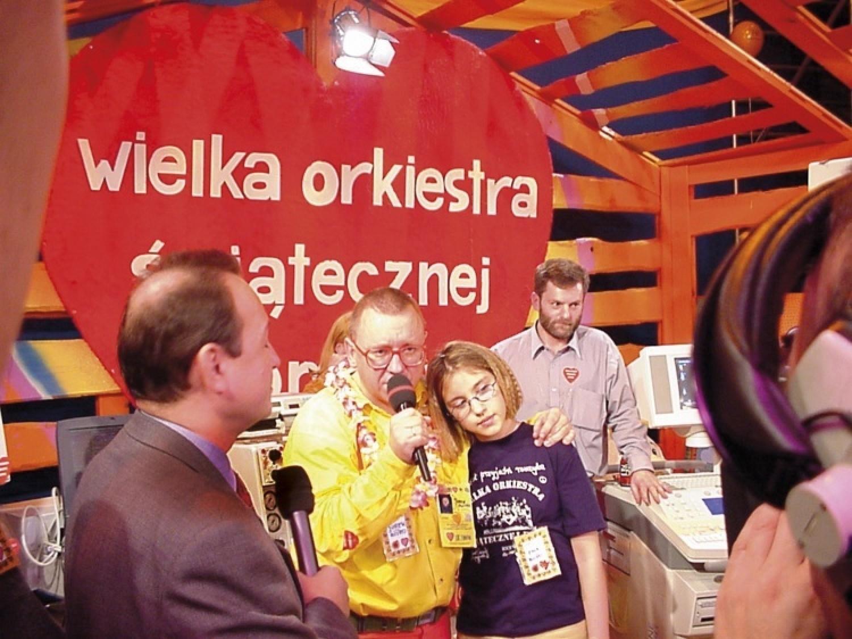 Pierwsze finały Wielkiej Orkiestry Świątecznej Pomocy transmitowane były w Telewizji Publicznej