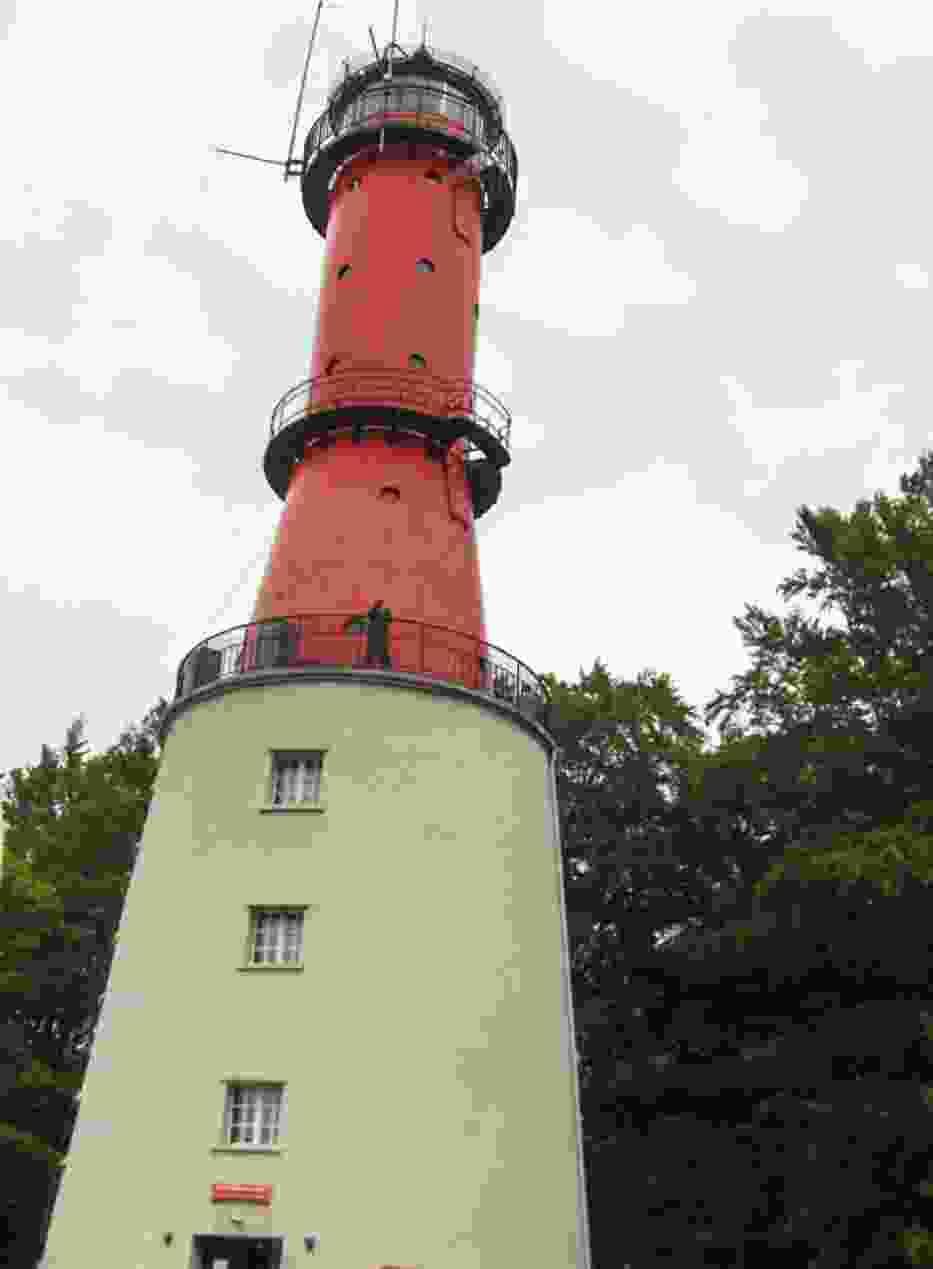 Czynna do dziś latarnia z 1822 roku