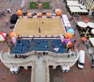 Plaża Open Zamość 2017. Już w czwartek rozpoczyna się wielkie widowisko sportowe (NOWE ZDJĘCIA)