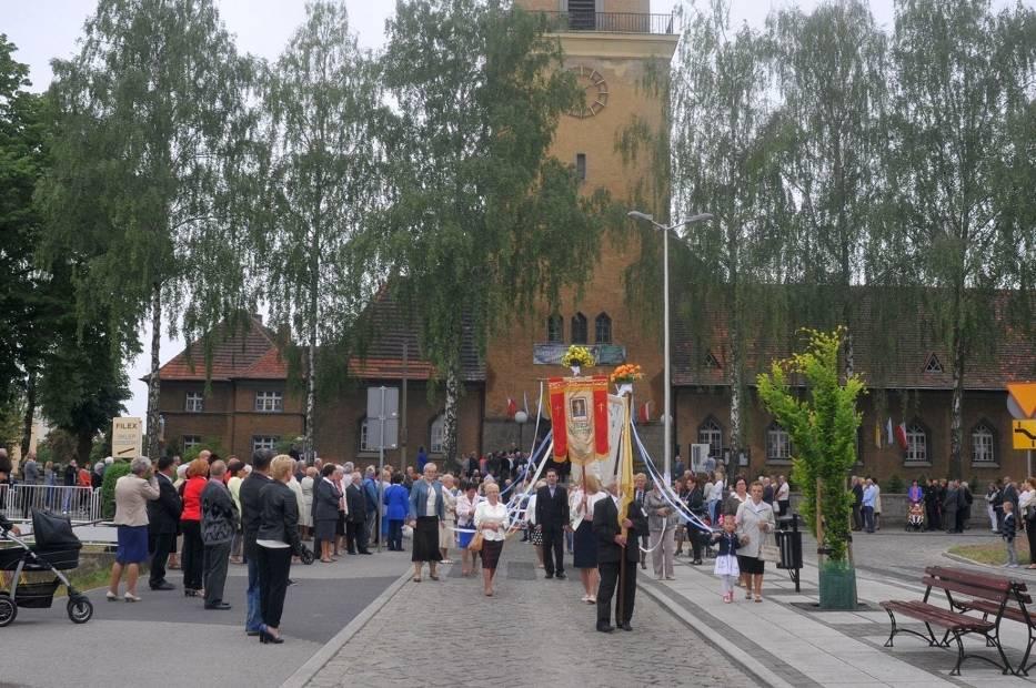 W Polsce tradycyjne uroczystości związane ze świętem Bożego Ciała obejmują mszę świętą,  po której następuje procesja ulicami miasta do czterech ołtarzy