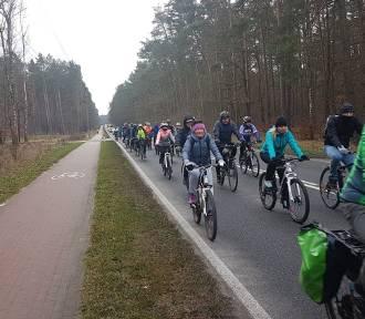 Na rowerach w Nowy Rok, czyli rajd nad Świdwie [ZDJĘCIA]