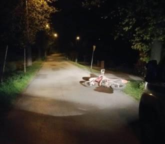 Wypadek motocykla w Iławie pod Nysą. Zginęła jedna osoba, druga jest w ciężkim stanie
