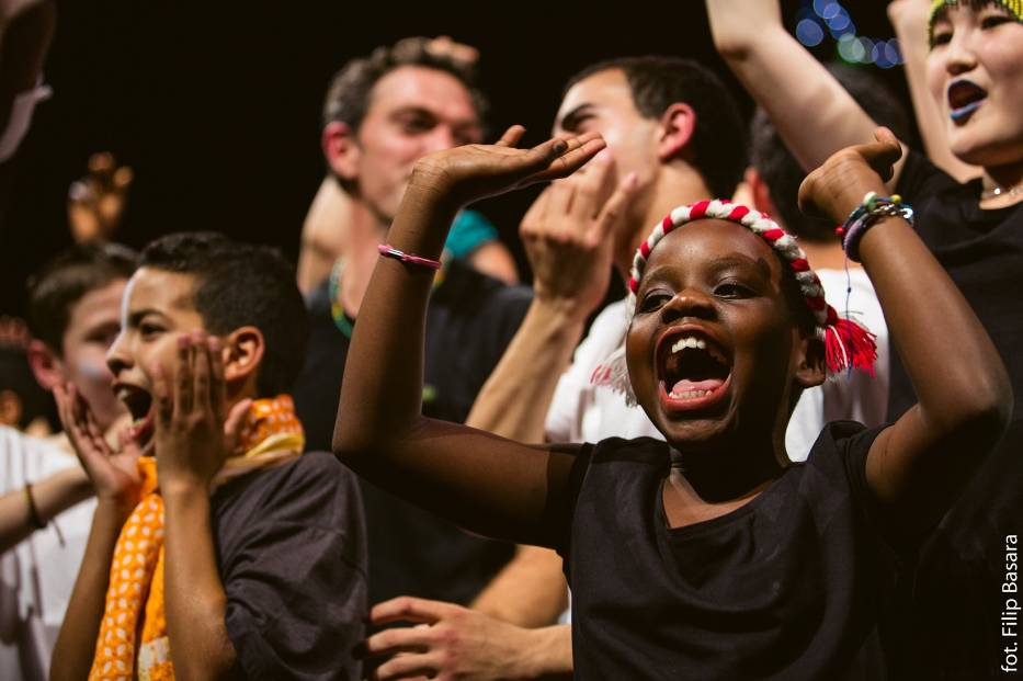 Brave Kids to międzynarodowy festiwal tworzony przez dzieci z całego świata