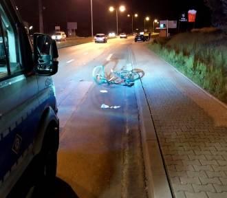 Jastrzębie-Zdrój: jechał rowerem pod prąd, źle się to dla niego skończyło...