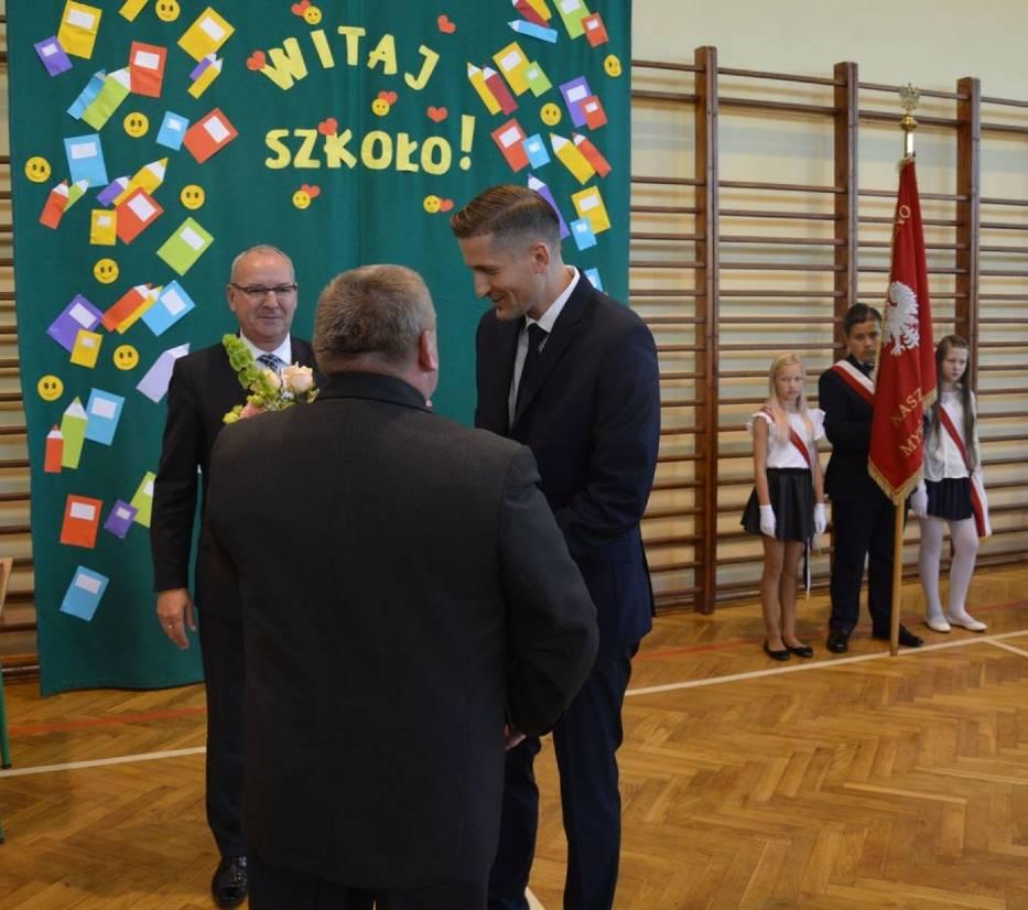 Jacek Zawodny nowym dyrektorem SP1 w Koźminie Wlkp.