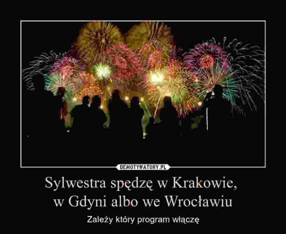 Sylwester 2014: Śmieszne obrazki o wielkich planach na Nowy Rok