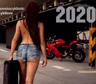 Kalendarz Śląskich Motocyklistek 2020. Pozują w celach charytatywnych