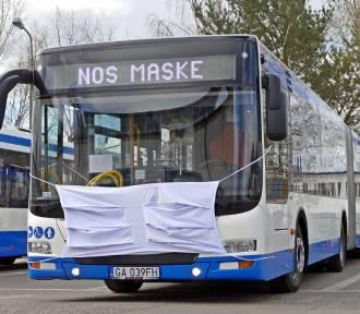 Gdyńskie autobusy noszą maseczki