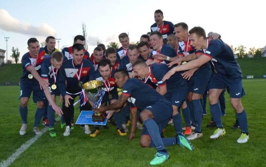 Piłkarze Polonii Środa zdobyli Puchar Polski strefy poznańskiej