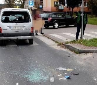 16-latek prowadził skuter bez uprawnień, uderzył w samochód osobowy