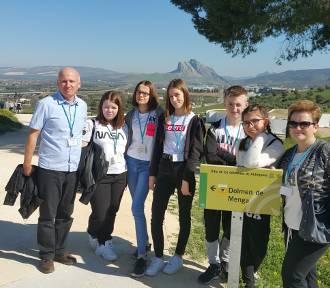 Uczniowie ze szkoły w Dębem gościli w Hiszpanii. ZDJĘCIA