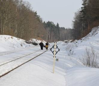 Śmiertelne potrącenie na torach w okolicach Szpęgawska ZDJĘCIA
