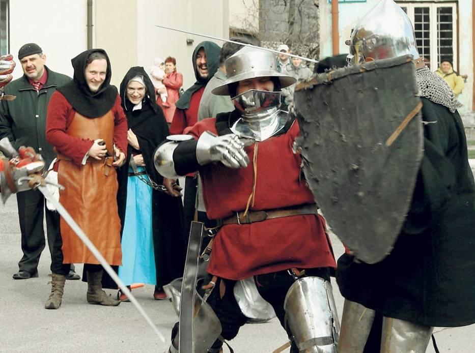 Tak walczą rycerze z Grabowa