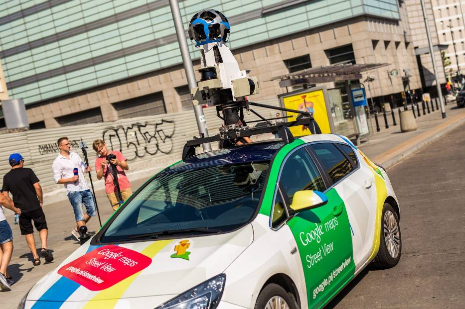 Google Street View Warszawa Naszemiasto Pl
