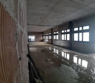 Niedokończone sanatorium w Nałęczowie. Zobaczcie zdjęcia od wewnątrz