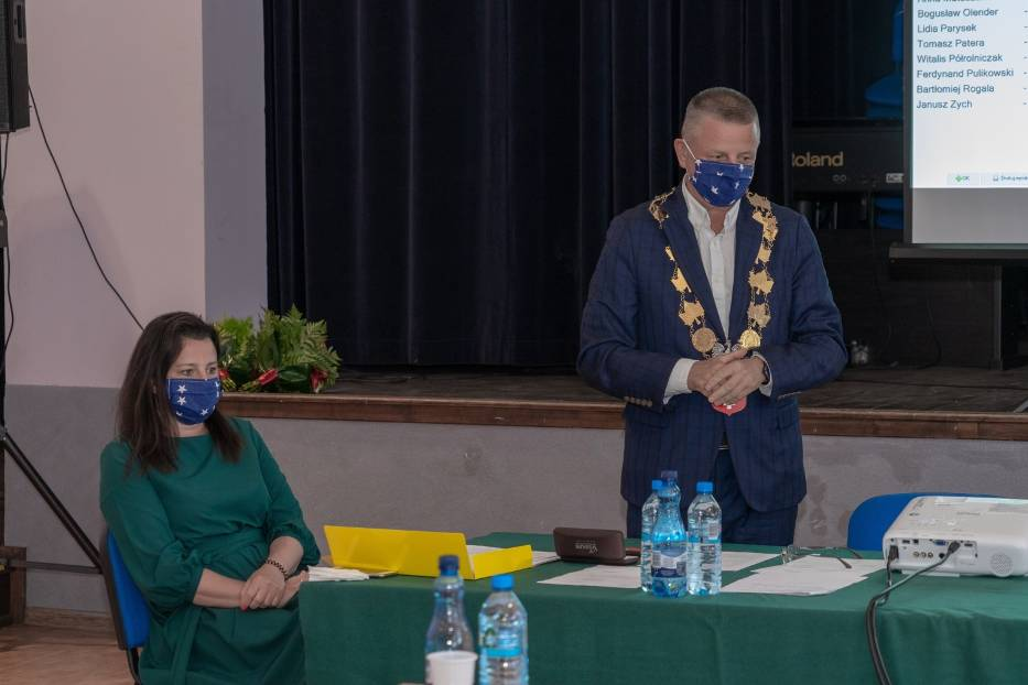 Burmistrz Jarosław Pietrzak argumentował decyzję o nadaniu ulicy nazwy generała Augustyna Gorzeńskiego