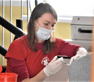 W Malborku szczepienia przeciw koronawirusowi idą coraz oporniej