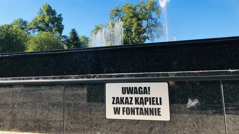 Fontanna w Głogowie