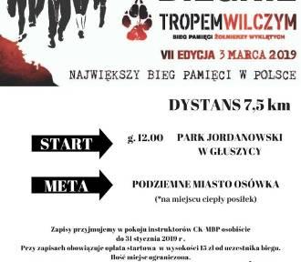 """Głuszyca: Bieg Pamięci Żołnierzy Wyklętych """"Tropem wilczym"""" na początku marca"""