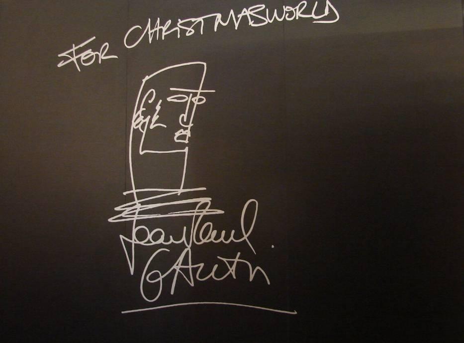 Osobisty podpis Jean-Paula Gaultiera