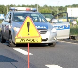 Wypadek koło Skwierzyny. Zderzyły się honda i ford