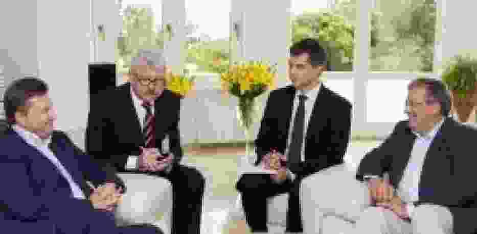 Komorowski i Janukowycz w Gdańsku