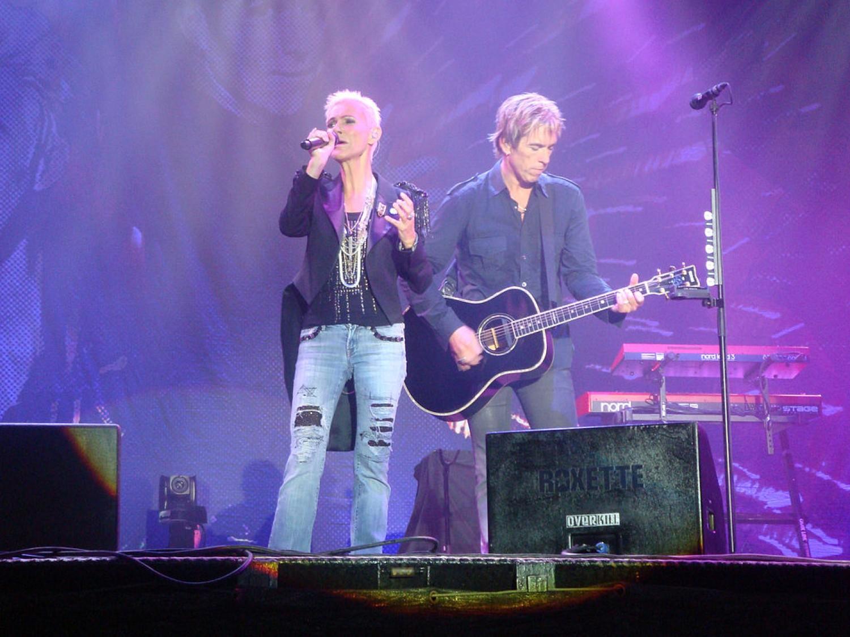 Fani Roxette podniosą w górę serca podczas koncertu na Torwarze