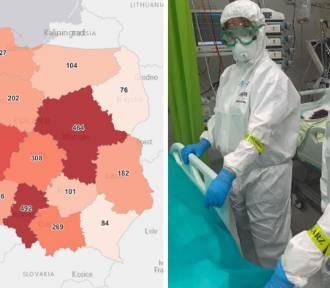 W Śląskiem wciąż najwięcej zakażeń i zgonów. Sprawdź sytuację w swoim mieście