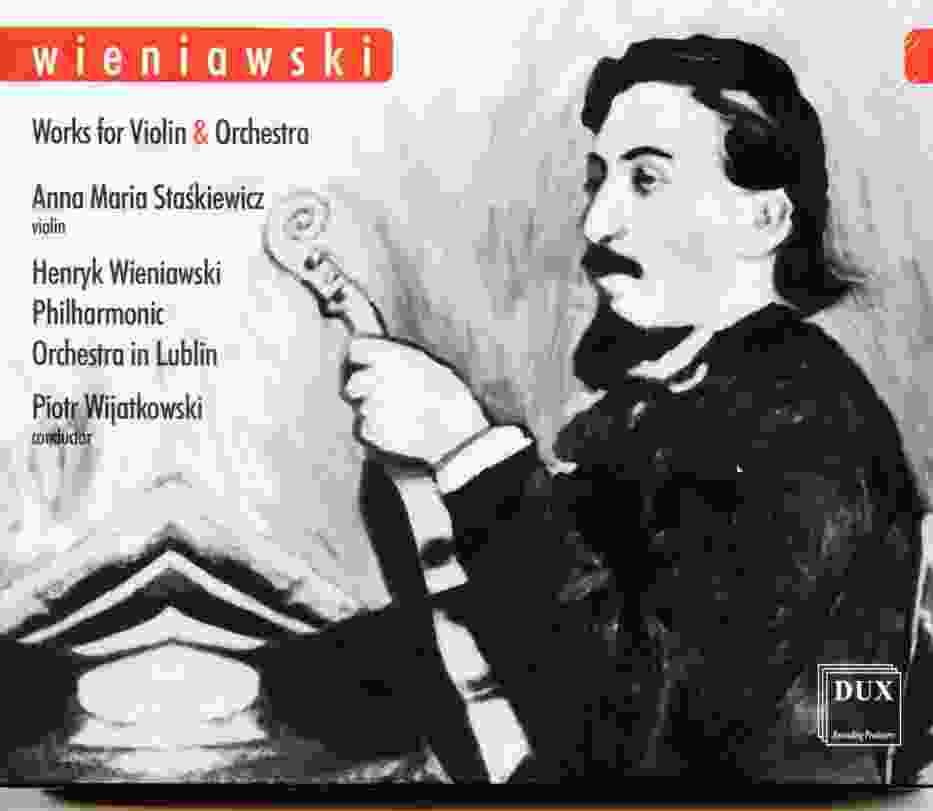 Płyta z muzyką Henryka Wieniawskiego promuje Lublin