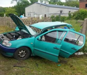 Wypadek w Starym Żaganiu. Kobieta i troje dzieci w szpitalu