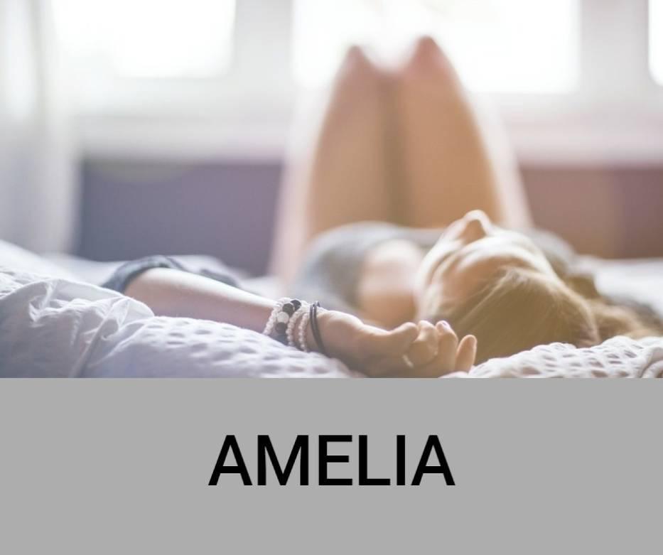 Amelia, Amalia – imię żeńskie pochodzenia germańskiego, powstałe jako skrócenie imion dwuczłonowych z pierwszym członem Amal-, takich jak między innymi Amalgunda lub Amalberga
