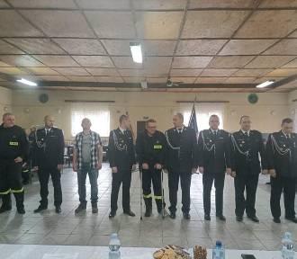 Strażacy ochotnicy z Czarnego spotkali się na walnym zebraniu sprawozdawczo-wyborczym