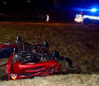 Śmiertelny wypadek na autostradzie A1. Nie żyje kobieta [zdjęcia]