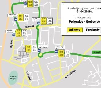 Grębocice i Polkowice połączy darmowa komunikacja autobusowa
