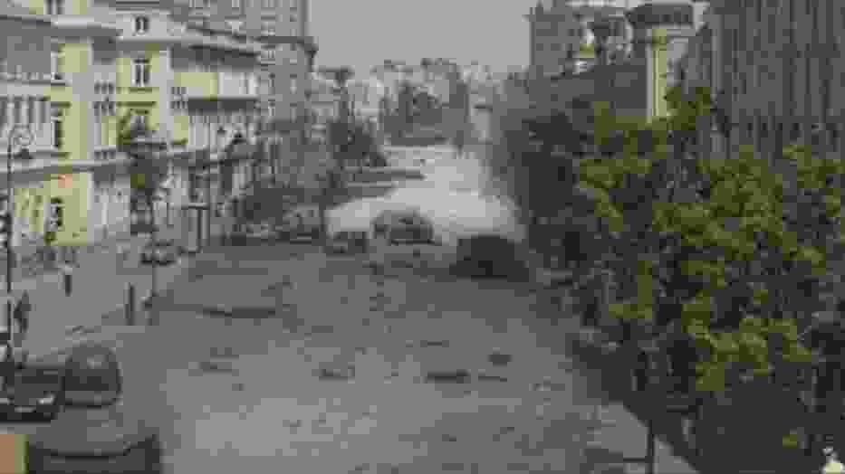 Kadr z filmu Ewy Ewart Zdobyć miasto