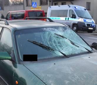 Potrącenie pieszego w Gościcinie. Ranny został przewieziony do szpitala [ZDJĘCIA]