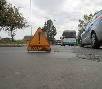 Wypadek na ulicy Nowodworskiej w Legnicy [ZDJĘCIA]