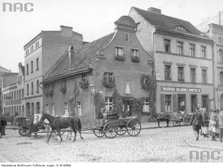 Hotel Modry Fartuch w Toruniu